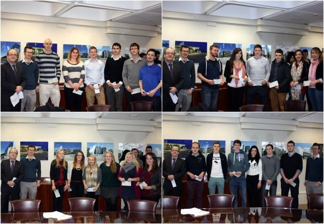 Prize-giving ceremony for 4th Year Applied Marketing students - 4th December 2013
