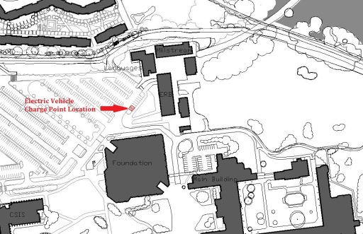 Location of Ecars Spaces - Drawing2
