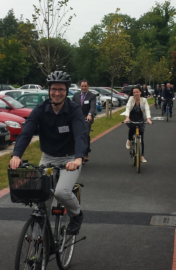 green campus cycling tour