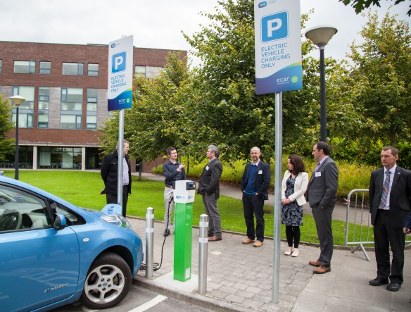 09/09/2015 University of Limerick, Green Campus Flag assessment team tour. Picture: Alan Place/Fusionshooters.