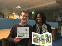 UL Environmental Society Portfolio fresh from the printer!