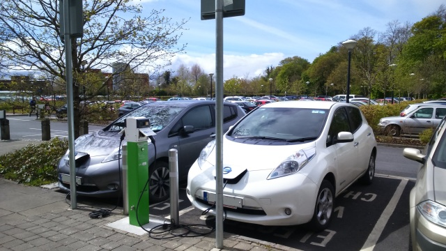 Electric Vehicles at UL May BH Weekend 2016