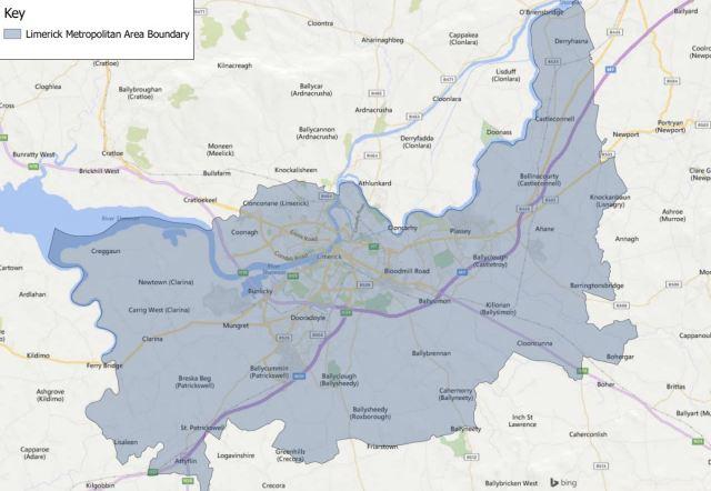 Limerick Metropolitan Area Boundary