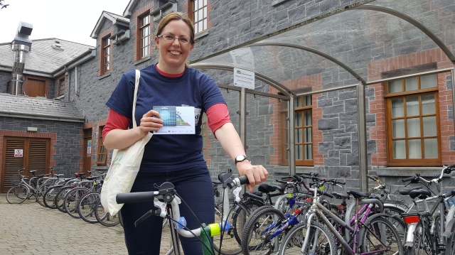 Photo 3 Top Female Cyclist Limerick European Cycling Challenge Week 1